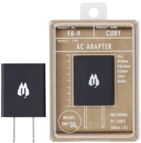 【CUBY FA-9/AC ADAPTER】NEW!!!