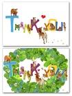 「THANK YOU」カード作りました♪